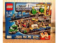 Lego City Cargo Train New