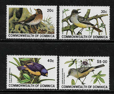 Dominica 696-9 Mint Never Hinged Complete Set - Birds