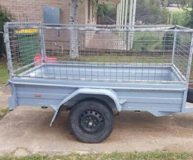 7 x 4 Cage Trailer Available for Hire Kaleen Belconnen Area Preview