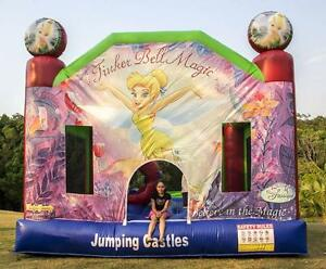 Tinkerbell Jumping castle $150 full day hire. Caboolture Caboolture Area Preview