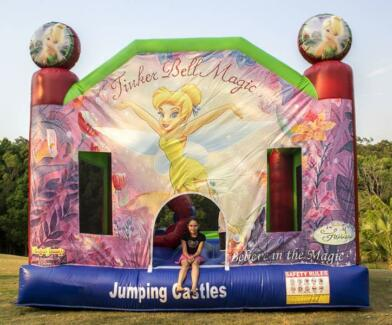 Tinkerbell Jumping castle $150 full day hire.
