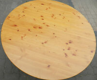 Solid Pine Ikea Round Coffee Table