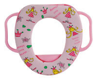 Baby Soft  Toilet Seat Cover With 2 Handles