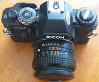 Vintage Ricoh XR7 35mm SLR Camera