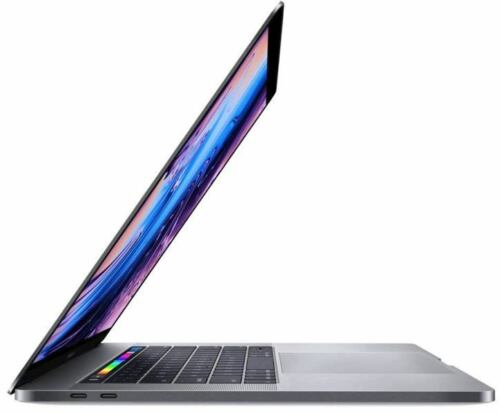 """Apple MacBook Pro 15"""" Display with Touch Bar Intel Core i7 16GB Memory AMD Radeon Pro 560X 512GB SSD (Latest Model) Space Gray MR942LL/A"""