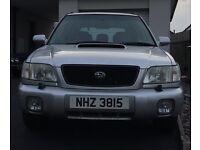 Subaru Forester Turbo-S 2ltr Silver, 2002