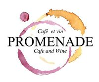 Bilingual Servers for Promenade Cafe and Wine