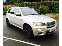 BMW X5 XDRIVE 30D M SPORT TWIN TURBO 7 SEATER LEATHER SATNAV TV & DVD HPI CLEAR