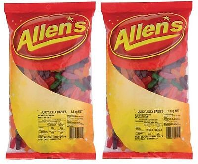 llens Jelly Babies Bag Candy Buffet Lollies Party Treats New (Party Candy Buffet)