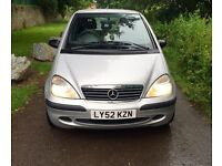 Mercedes A140 Classic - May 2017 MOT - Part Ex To Clear !!!!