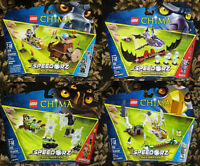 Lego Legends of Chima Banana Bash Bat Strike Web Dash Sky Launch