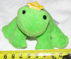 Vibrating Plush Green Prince Frog with a pull string tail London Ontario image 1