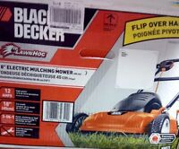NEW Black & Decker 18-Inch, 12 Amp Corded Electric Lawn Mower