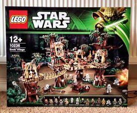 Lego Star Wars Ewok Village New