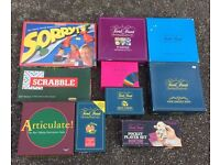 Collection of Family Board Games