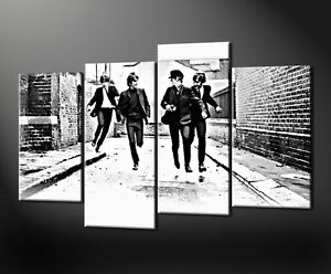 BEATLES CANVAS WALL ART PICTURES PRINTS DECOR LARGER SIZES AVAILABLE