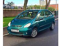 2003 53 Reg Citroen Picasso Desire 1.6 Petrol 5 Seater 11 Months MOT Service History 2 Keys