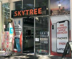 Skytree Electronics we fix phones screen battery onsite fast repair Surfers Paradise Gold Coast City Preview