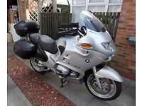 2003 Silver BMW R1150RT Superb condition low mileage only £3,500