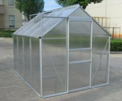 ALUMINIUM POLYCARBONATE GARDEN GREENHOUSE Heidelberg West Banyule Area Preview