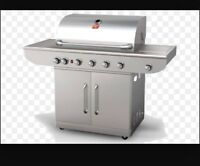 New stainless steel BBQ for 250$