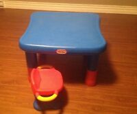 Little tikes table and chair