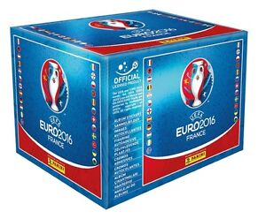 Panini Euro Cup France 2016 Soccer Sticker Box 50 or 100