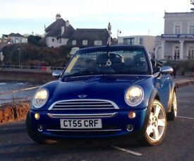 Mini Cooper 1.6 Convertible - MOT, Alloys, Leather