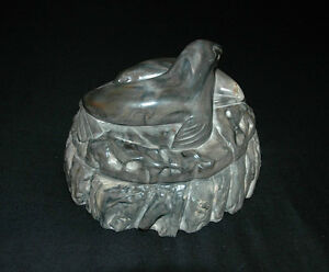 Two Seals Carving by Thorn Arts Nanaimo BC