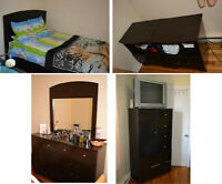 moving and need to sell fast. Used furniture, washer & dryer