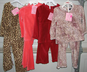 Qty 5 x 2 Pc Girls Size 24 Months TCP Velvet Outfits