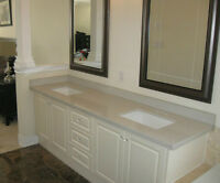 Granite/Quartz Countertop; Custom Vanity top for $199