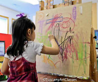 Kids Art Classes Age 5 to 12   NW Calgary by Professional Artist