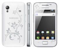 Samsung Galaxy Ace Gt-s5830i La Fleur Pure Bianco S5830 Senza Blocco Sim Nuovo Bianco- samsung - ebay.it