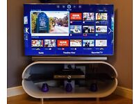 """55"""" Samsung 4K UHD F9000 series 9 3D camera built in WiFi bluetooth freeview"""