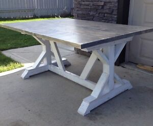 Custom Rustic Dining Tables - Now Taking Orders!