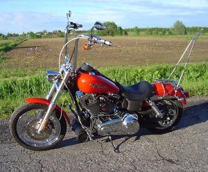 Rack à bagages Harley Davidson avec sissy bar