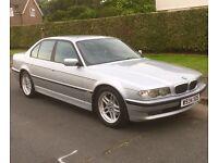 BMW 728i SPORT AUTO 2000(W) PETROL 5dr SALOON