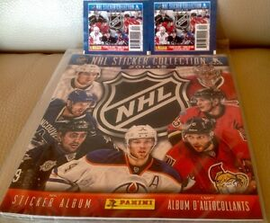 Album Panini NHL Hockey 2014-15  & plus...
