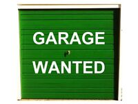 Garage to rent wanted