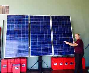 Solar Power, Batteries and inverters