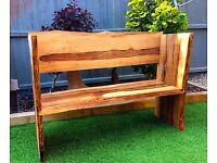 Live Edge Maple Bench