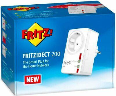 SMART PLUG AVM FRITZ!DECT 200 BIANCA 230V AC CON MONITORAGGIO DI ENERGIA AS NEW, usado comprar usado  Enviando para Brazil