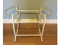 Clare de lune Moses basket stand
