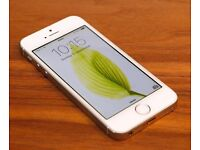 iPhone 5s 32GB unlocked silver/white