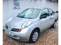★NEW IN ★🚗★ 2004 NISSAN MICRA 1.0 PETROL ★MOT MAY 2017★ SERVICE HISTORY★ LOW INSURANCE★KWIKI AUTOS★