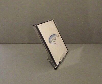 10 Stück CD Aufsteller,CD Ständer,CD Aufbewahrung, aus Acrylglas.Deko Hilfe