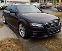 2011 Audi A4 s-line Quattro manual LOW KM