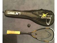 Squash racket by HEAD