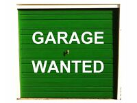 Garage (or similar) Wanted to rent for storage